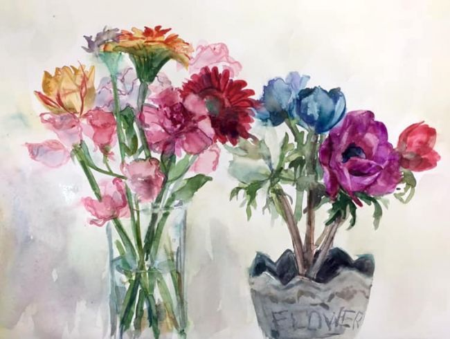 Flowers-watercolor