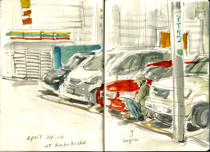 Lapin_at_a_parking_lot