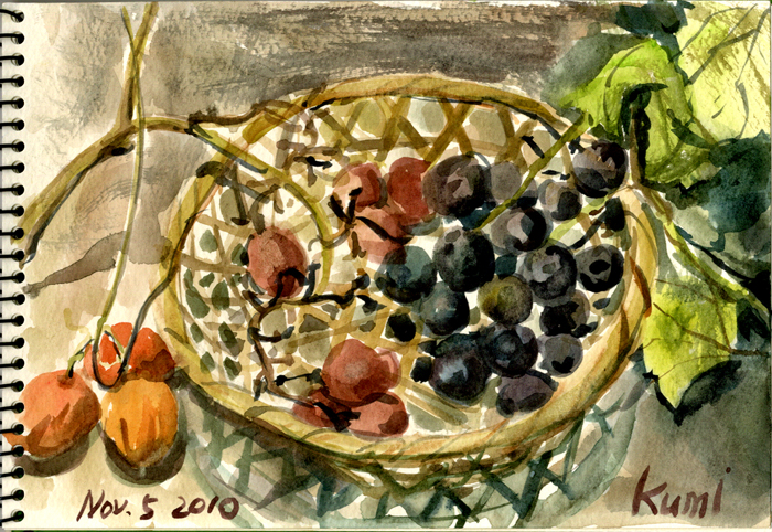 Grapes_and_snake_gourds
