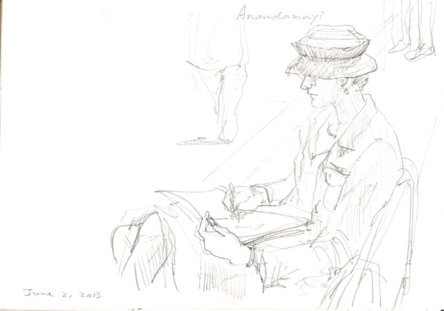Sketching_anandamayi