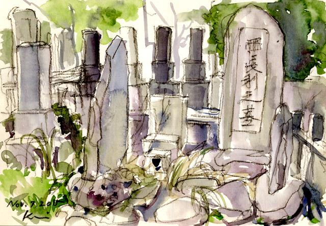 Yanaka_grave_yard1