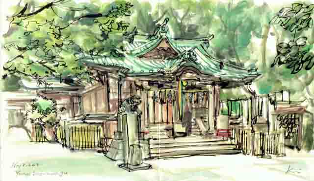 Yoyogihachimangu_shrine