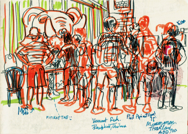 One_day_before_asialink_sketchwalk_