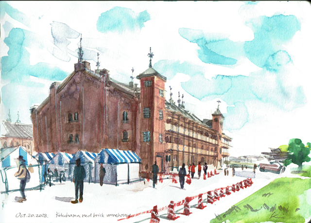 Yokohama_red_brick_warehouse