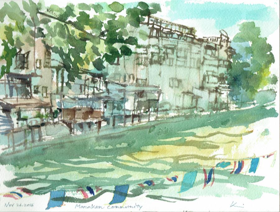 Riverside_at_manakan_community