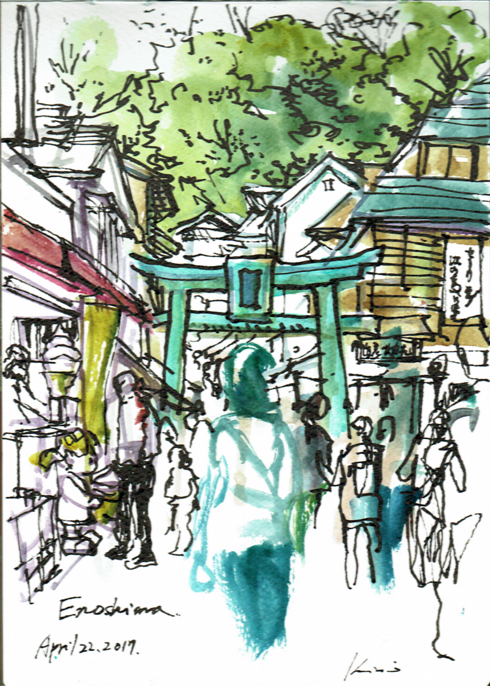 Enoshima_entrance_view